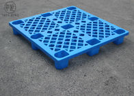 Blue / White Lightweight Plastic Pallets For Goods  Transport 1100 * 1100 P1111(N)