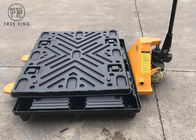 TP 1210 HDPE Plastic Pallets , Thermoformed Plastic Pallets With Top Cap / Cover