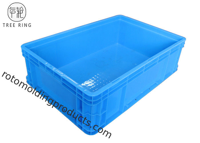 Heavy Duty Plastic Storage Euro Stacking Containers With Lids , Euro Stacking Boxes