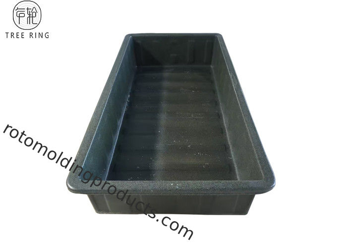 Large Food Grade Aquaponics Fish Framing Tank Trays Hydroponic For Greenhouse Raised K500
