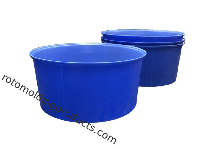 Rotationally Moulded 4200 Litre Plastic Cattle Drinking Troughs Open Water Tank